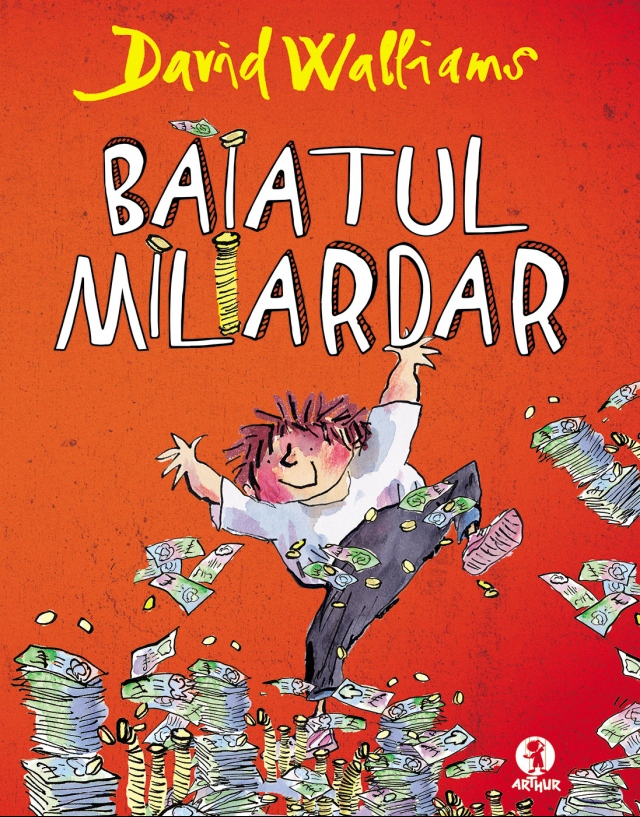 David Walliams - coperta Baiatul-miliardar