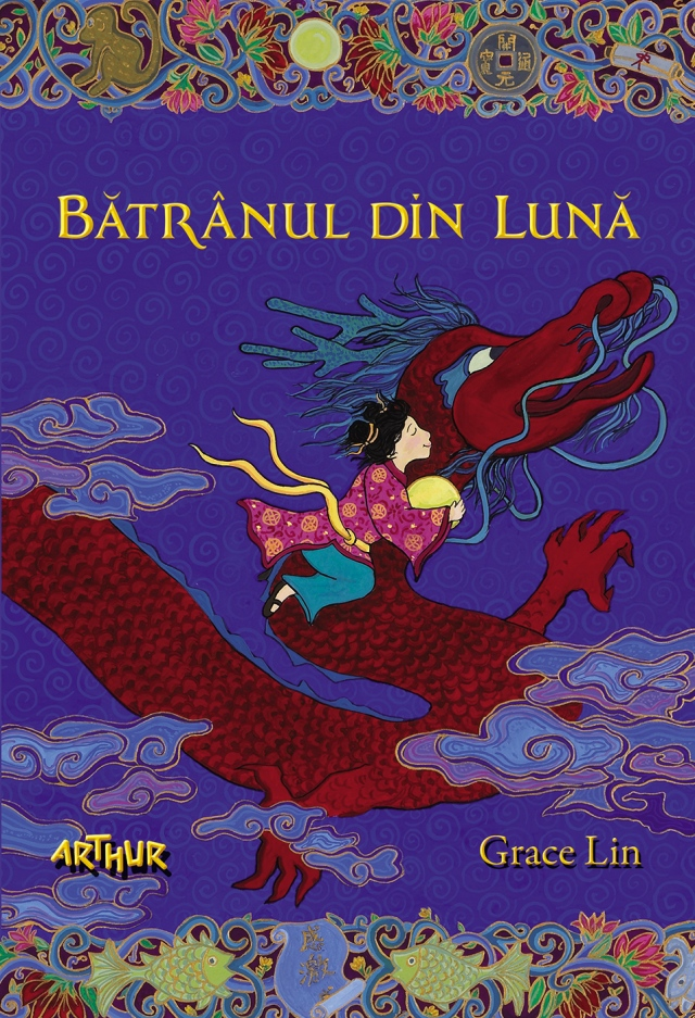 Grace Lin - coperta Batranul-din-luna