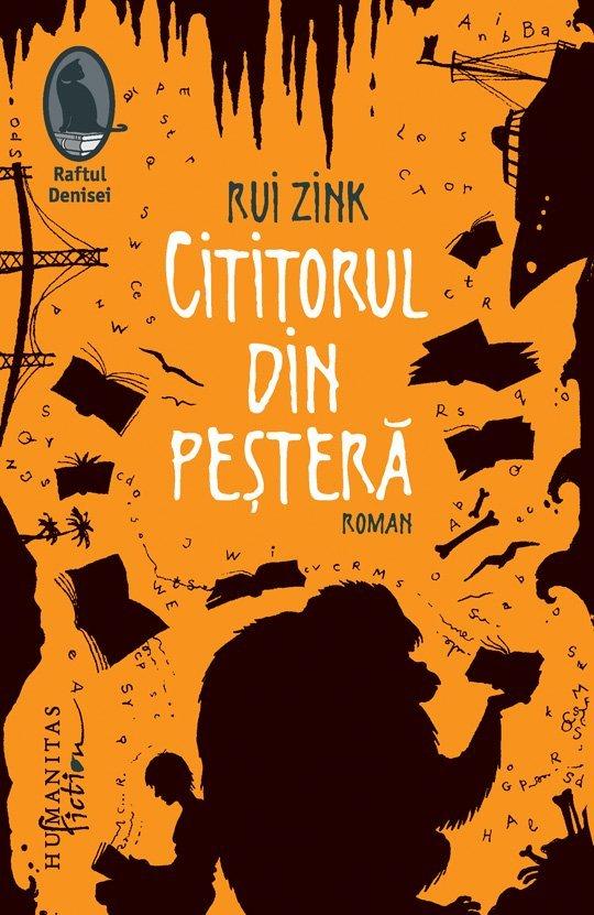 Rui Zink - COPERTA Cititorul din pestera