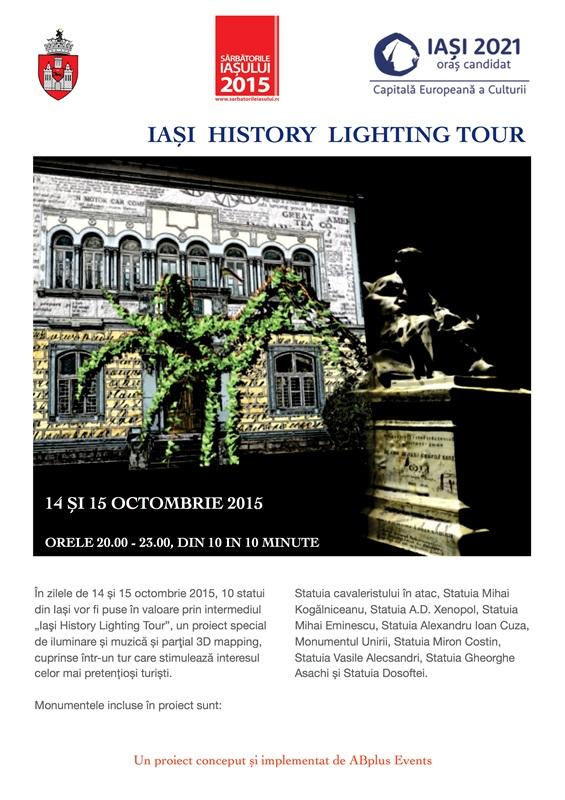 Iasi lighting tour