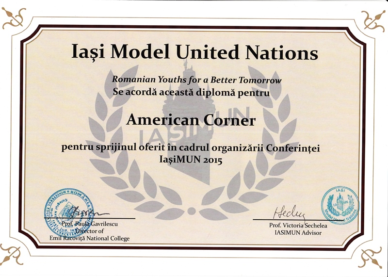 diploma AMC 2015
